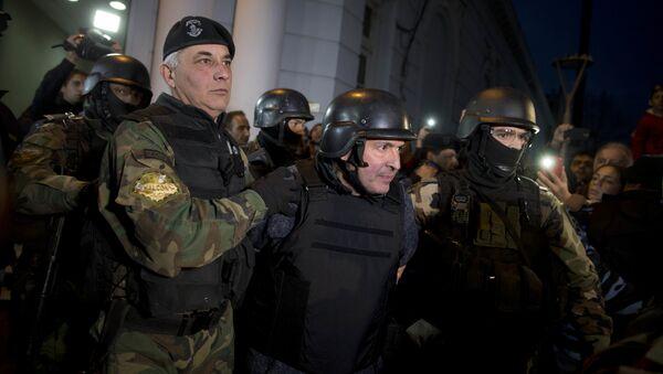 José López (centro), exsecretario de Obras Públicas - Sputnik Mundo