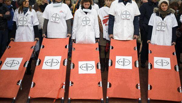 Médicos Sin Fronteras (MSF) - Sputnik Mundo