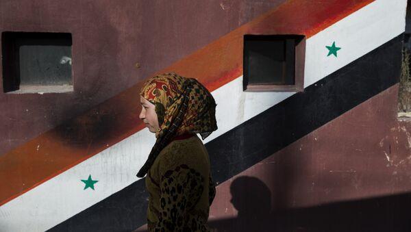 Una ciudadana siria - Sputnik Mundo