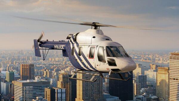 Helicóptero Ansat - Sputnik Mundo