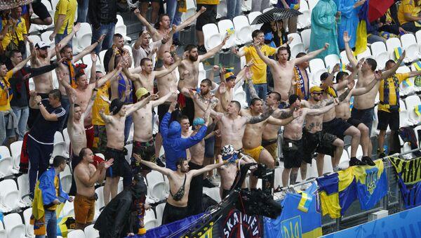 Hinchas ucranianos - Sputnik Mundo