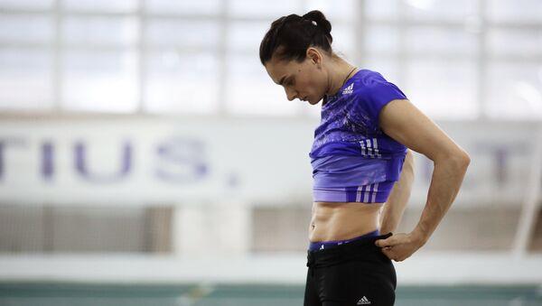 Yelena Isinbáyeva, atleta rusa - Sputnik Mundo