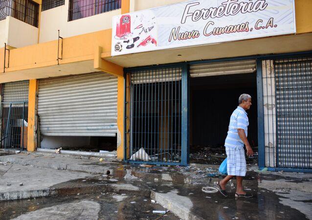 La ciudad venezolana de Cumaná después de una ola de saqueos y disturbios