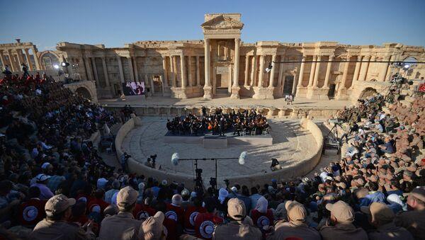 Renzi: сoncierto en Palmira, muestra de valores comunes entre Europa y Rusia - Sputnik Mundo