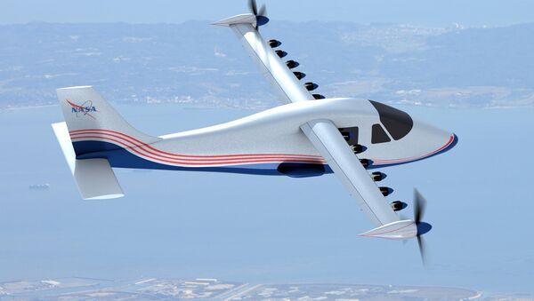 Avión eléctrico X-57 (Maxwell) - Sputnik Mundo