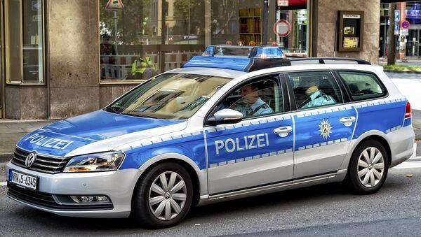 Policías alemanes en Colonia - Sputnik Mundo