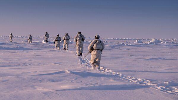 Los militares rusos en el Ártico - Sputnik Mundo