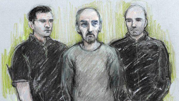 El retrato del presunto asesino de Jo Cox - Sputnik Mundo