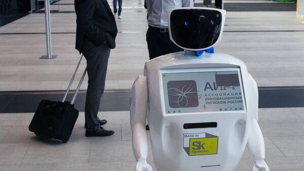Robot Promobot en una exhibición (archivo) - Sputnik Mundo