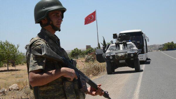 Guardia fronterizo turco - Sputnik Mundo
