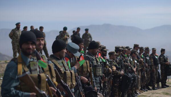 Soldados afganos en la provincia de Baghlan (archivo) - Sputnik Mundo