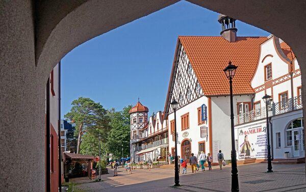 La ciudad de Svetlogorsk en la región de Kaliningrad - Sputnik Mundo