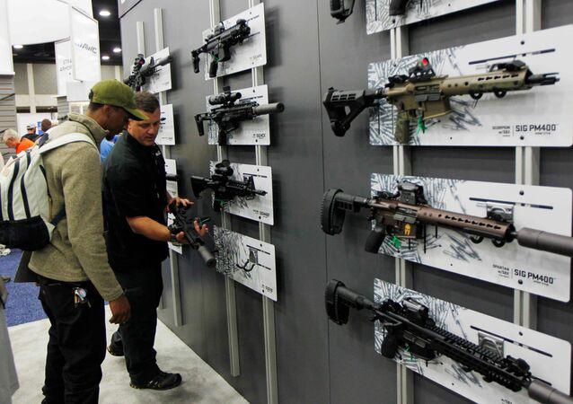 Asociación del Rifle de EEUU acepta aplazar venta de armas a acusados de terrorismo