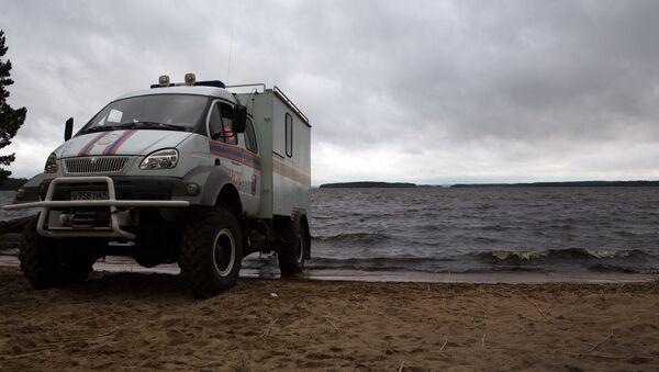 Operación de rescate en Karelia - Sputnik Mundo