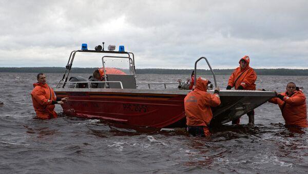 Operación de rescate en Carelia - Sputnik Mundo