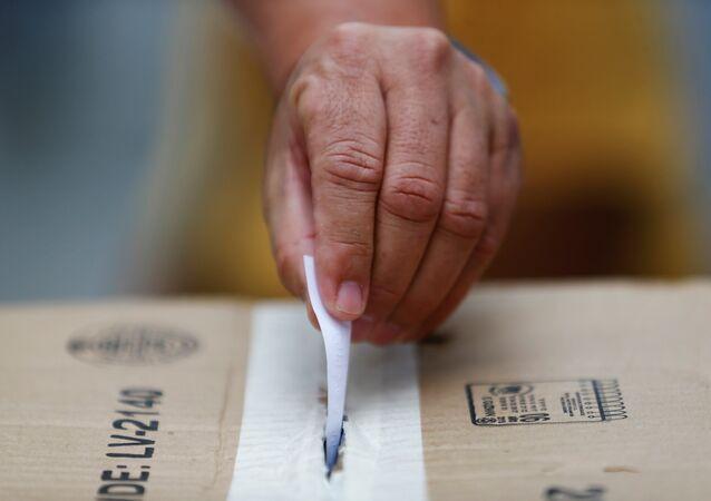 El proceso de validación de firmas en Venezuela (archivo)