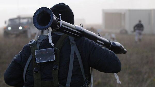 Mercenario estadounidense - Sputnik Mundo