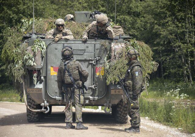 Finaliza en Estonia simulacro Saber Strike de la OTAN