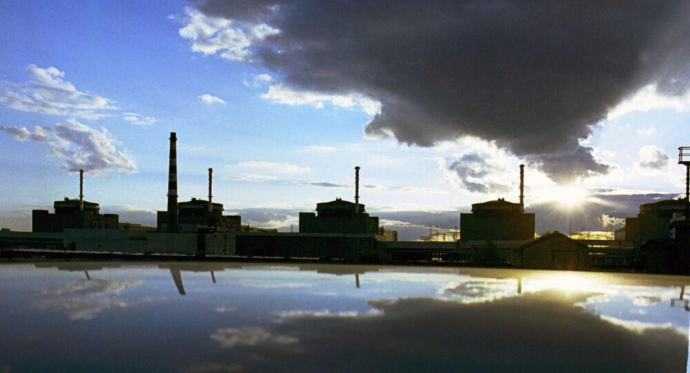 La central nuclear ucraniana Zaporozshskaya (archivo)