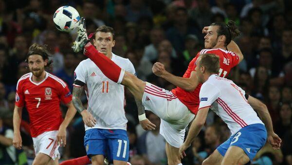 Eurocopa - 2016. Partido de Rusia contra Gales - Sputnik Mundo