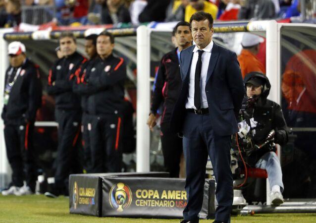 Dunga, el exseleccionador del equipo nacional de Brasil