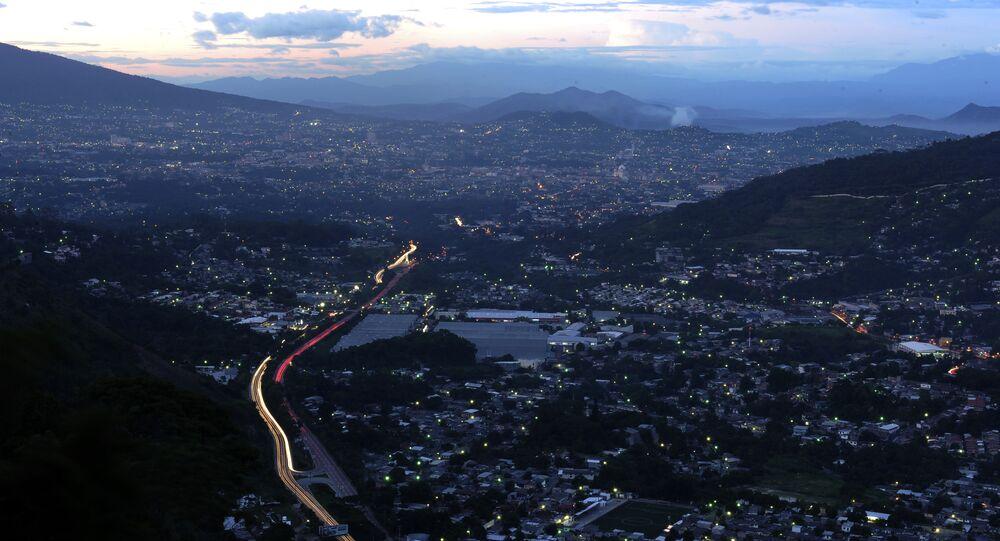 San Salvador, la capital de El Salvador