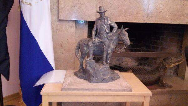 Maqueta del monumento dedicado al revolucionario nicaragüense, Augusto Sandino - Sputnik Mundo