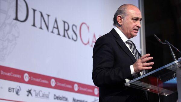 El ministro del Interior, Jorge Fernández Díaz - Sputnik Mundo