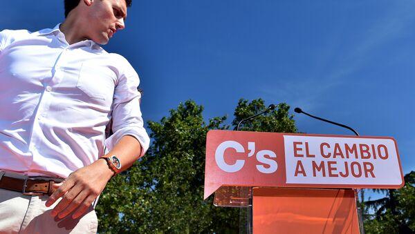 Albert Rivera, líder del partido español Ciudadanos - Sputnik Mundo