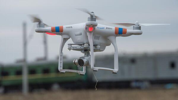 Un dron - Sputnik Mundo