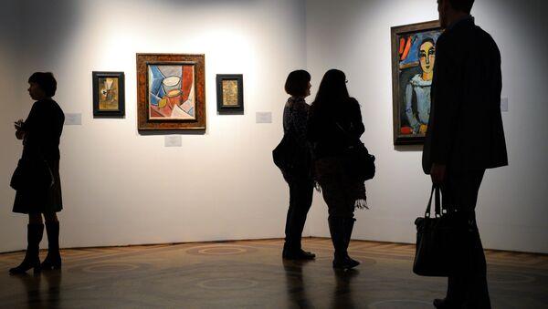 Una exposición dedicada a la obra de Pablo Picasso (archivo) - Sputnik Mundo