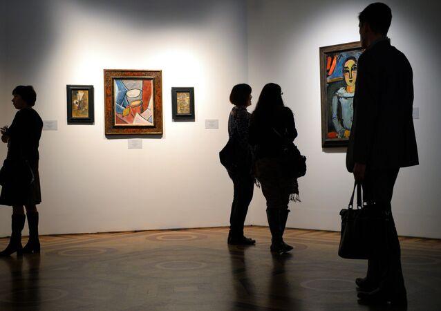 Una exposición dedicada a la obra de Pablo Picasso (archivo)