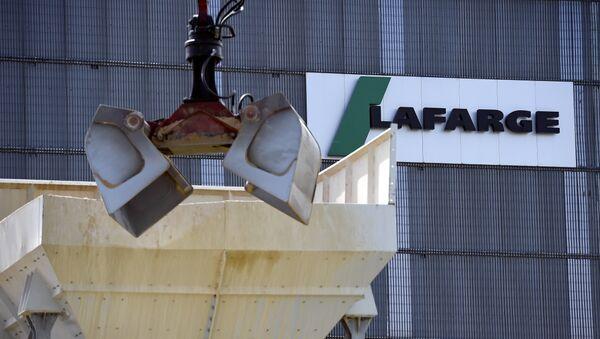 La empresa francesa Lafarge - Sputnik Mundo