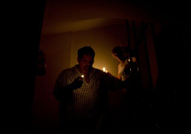 Situación eléctrica en Buenos Aires (archivo)