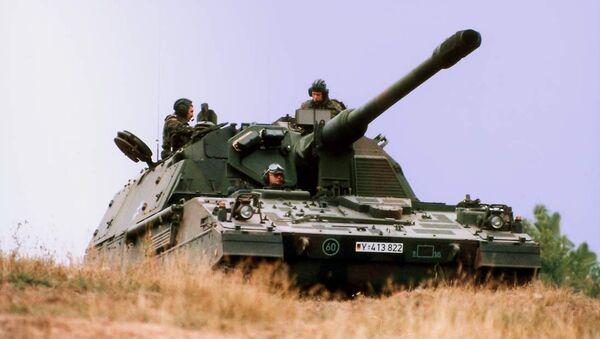 PzH 2000 del Ejército alemán - Sputnik Mundo
