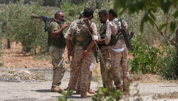 Combatientes de las Fuerzas Democráticas de Siria (FDS) - Sputnik Mundo