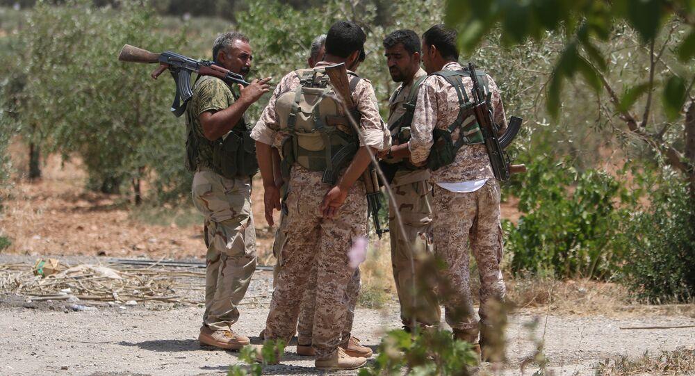 Combatientes de las Fuerzas Democráticas de Siria (FDS), archivo