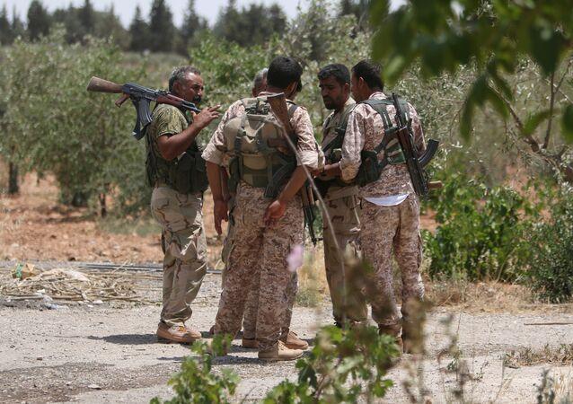 Combatientes de las FDS (archivo)