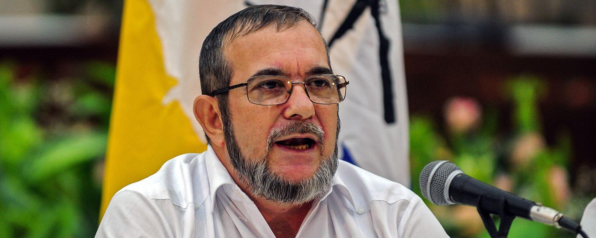 Rodrigo Londoño Echeverri, alias 'Timochenko', máximo líder de las FARC - Sputnik Mundo, 1920, 17.06.2021