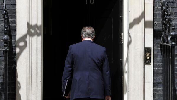 David Cameron, el exprimer ministro del Reino Unido - Sputnik Mundo