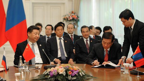 La delegación china en la cumbre de la OCS - Sputnik Mundo
