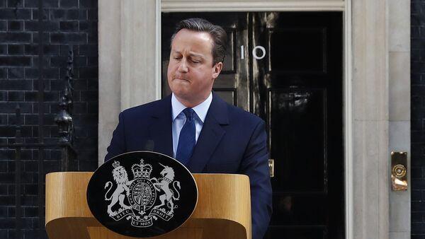 David Cameron, el primer ministro del Reino Unido - Sputnik Mundo