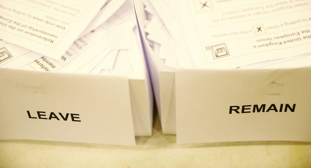 Boletas electorales del Brexit (archivo)
