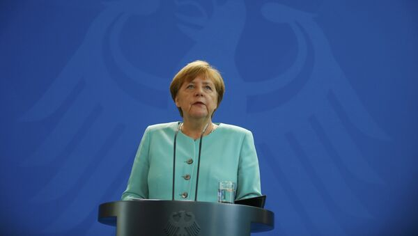 Angela Merkel, canciller alemana - Sputnik Mundo