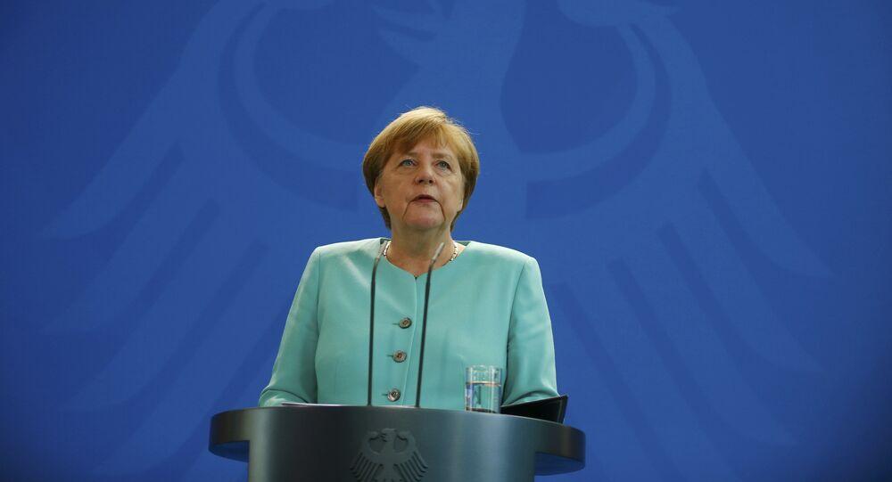 La canciller alemana Angela Merkel en Berlín. El 24 de junio del 2016