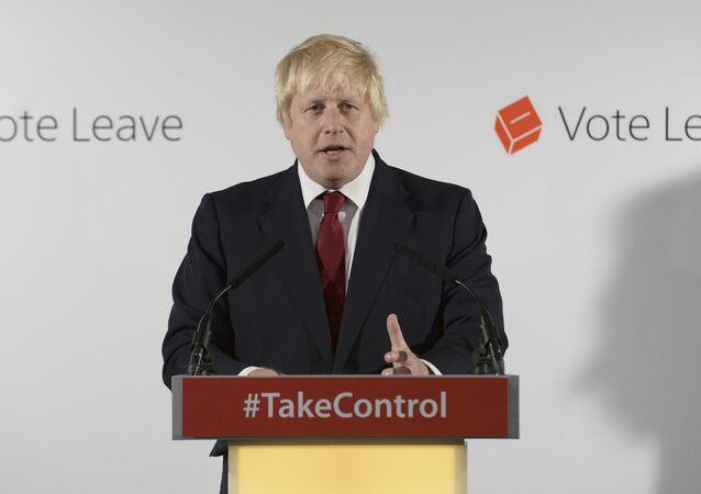 Boris Johnson, nuevo jefe del Gobierno británico (archivo)