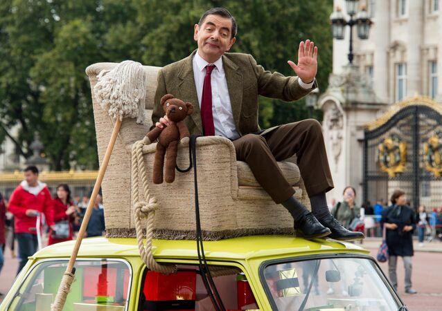 El actor británico Rowan Atkinson