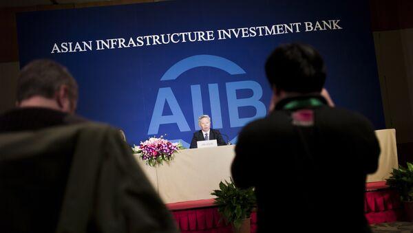 Jin Liqun, presidente del Banco Asiático de Inversión en Infraestructura (AIIB) (archivo) - Sputnik Mundo