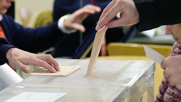 Las elecciones generales en España (archivo) - Sputnik Mundo