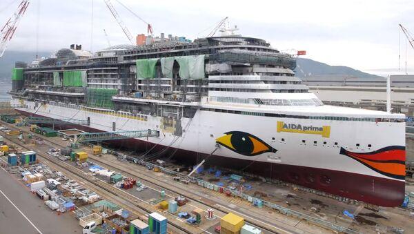 'AIDAprima Cruise Ship' - Sputnik Mundo